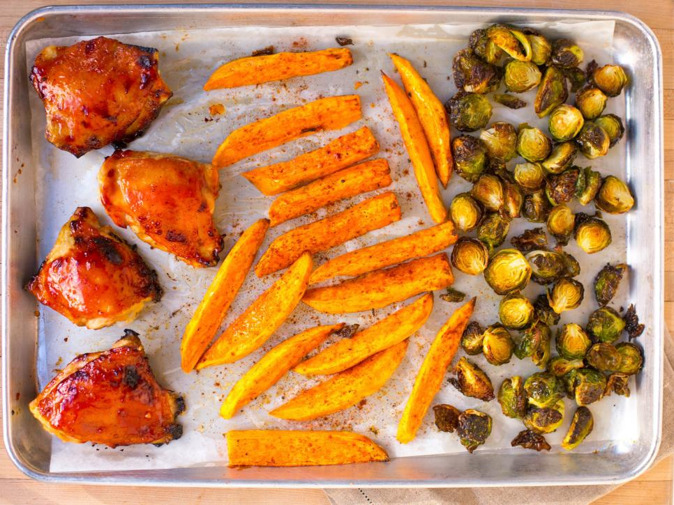 Sheet Pan Dinner Ideas: Food Network   Recipes, Dinners and Easy ...