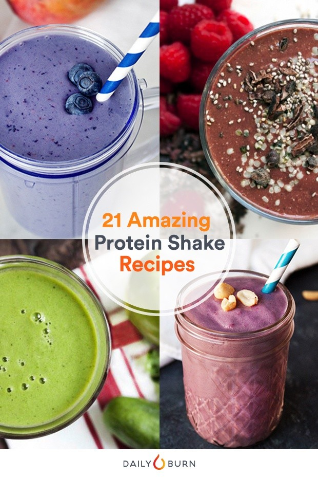 21 Quick and Easy Protein Shake Recipes | Daily Burn