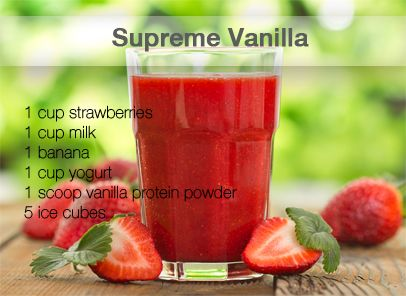Delicious Strawberry Banana Protein Shake Recipe! | health ...