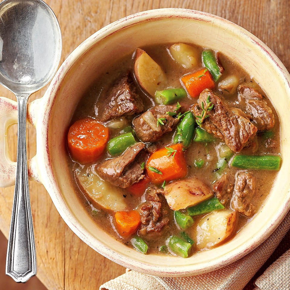 Hearty Vegetable Beef Stew Recipe - EatingWell