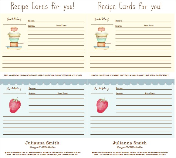 Sample Blank Recipe Template - 9+ Download Documents in PDF, PSD ...