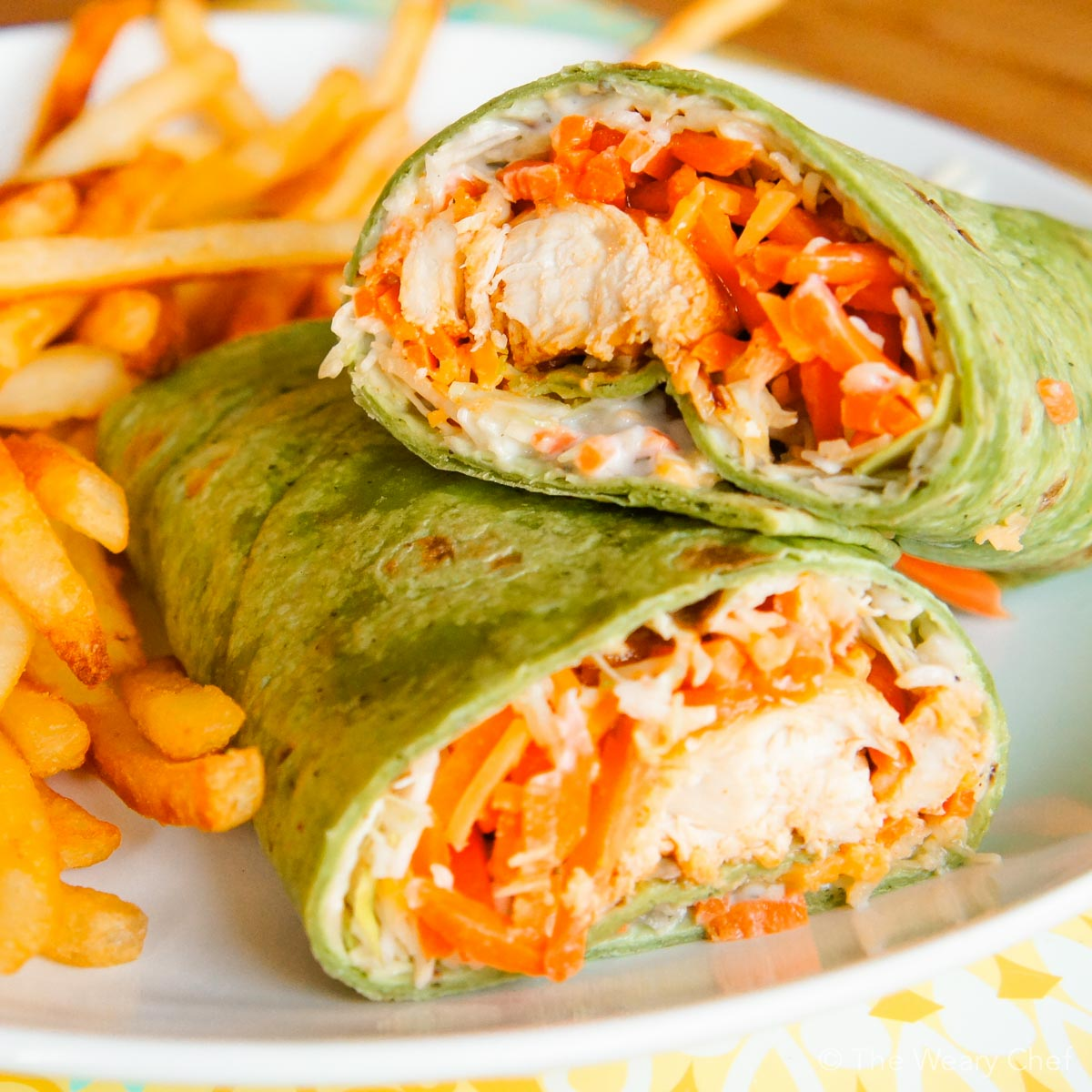 Buffalo Chicken Wraps: A fun and tasty dinner idea! - The Weary Chef