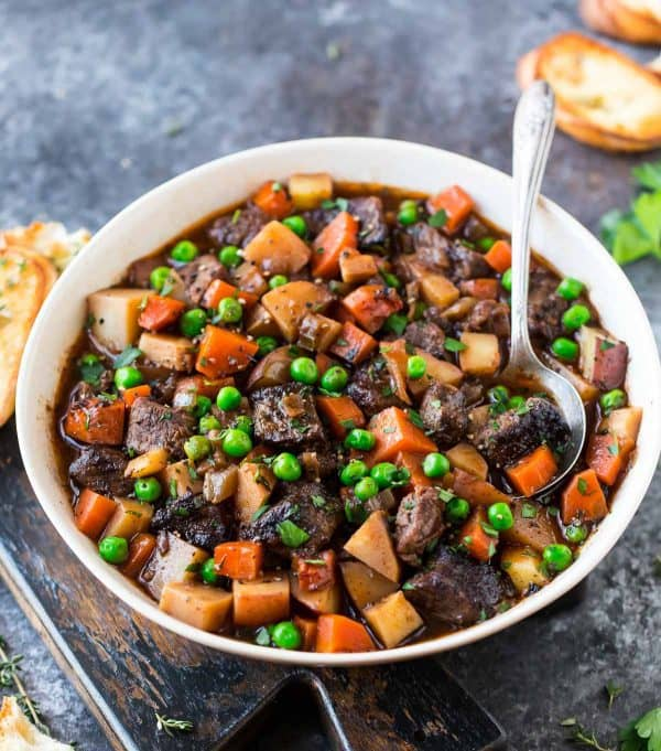 Crock Pot Beef Stew Recipe | Well Plated by Erin