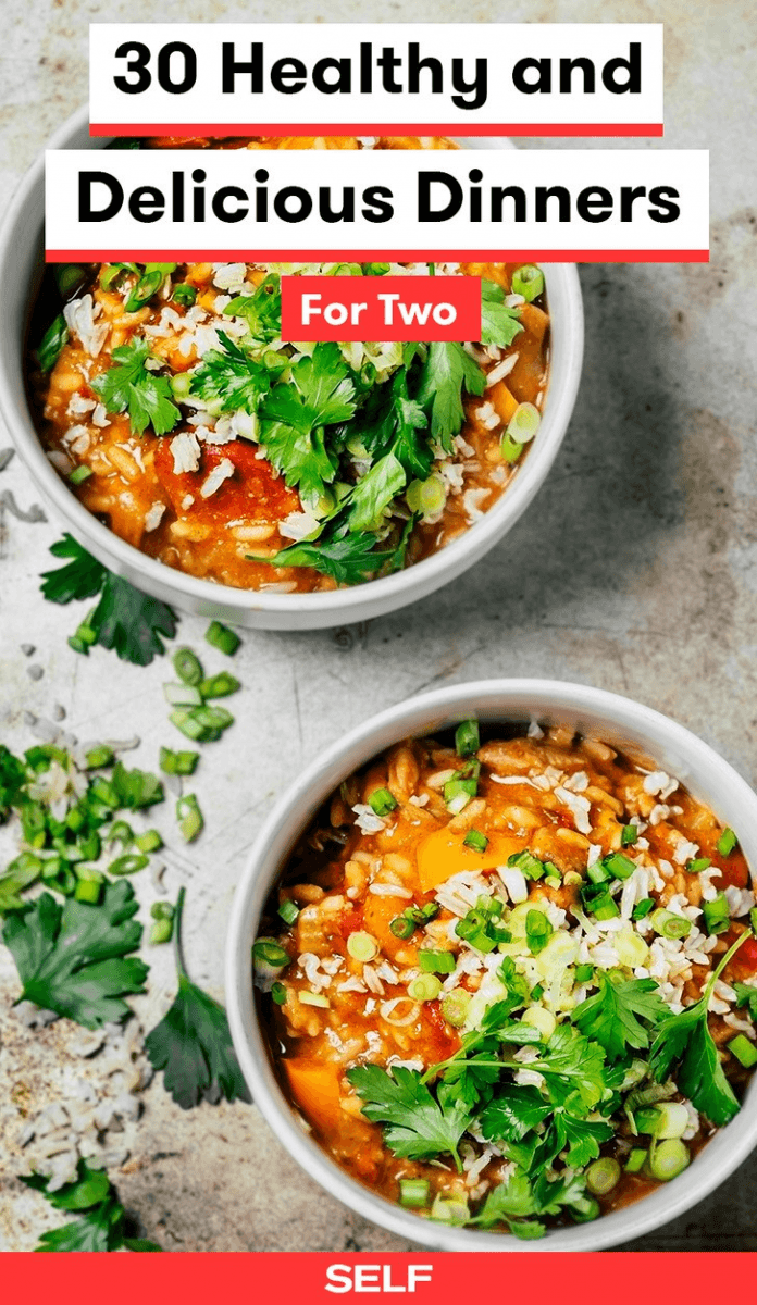 30 Delicious And Healthy Dinner Ideas For Two | SELF