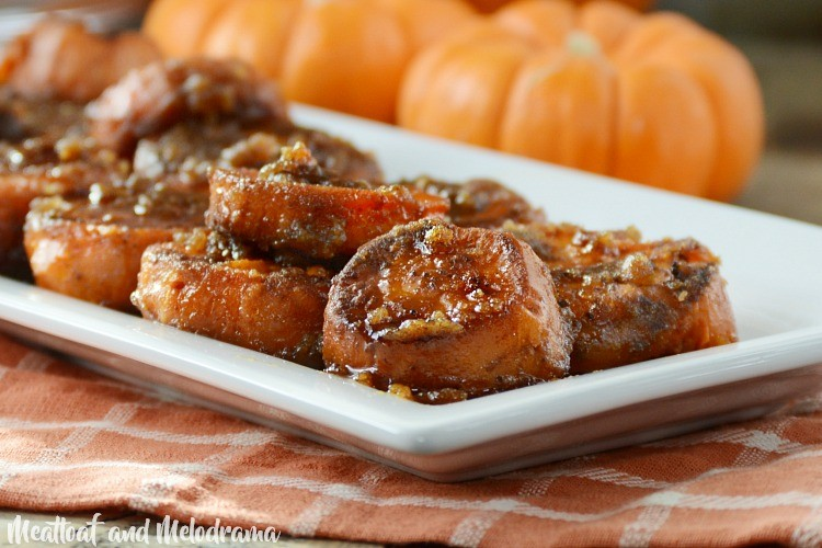Easy Stove Top Candied Yams - Meatloaf and Melodrama