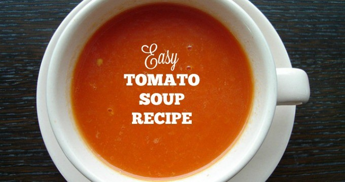 Easy Tomato Soup Recipe » Housewife How-Tos®