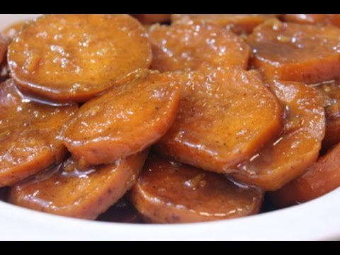 Southern Baked Candied Yams - Soul Food Style - I Heart Recipes ...
