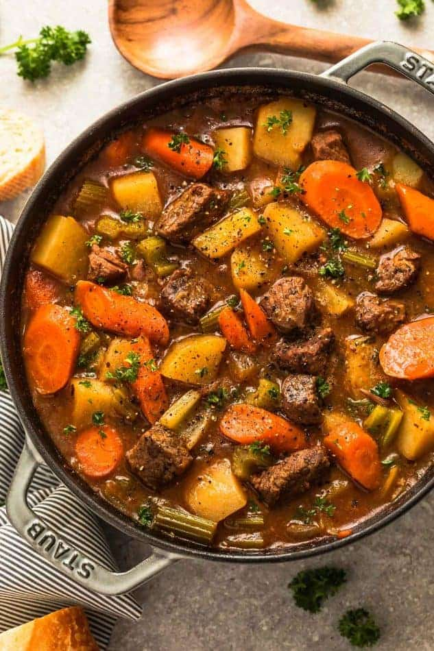 Classic Homemade Beef Stew Recipe | Easy Beef Stew Dinner Idea