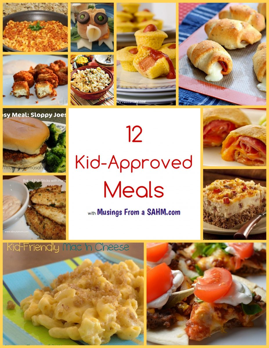 12 Kid-Approved Meals - Living Well Mom