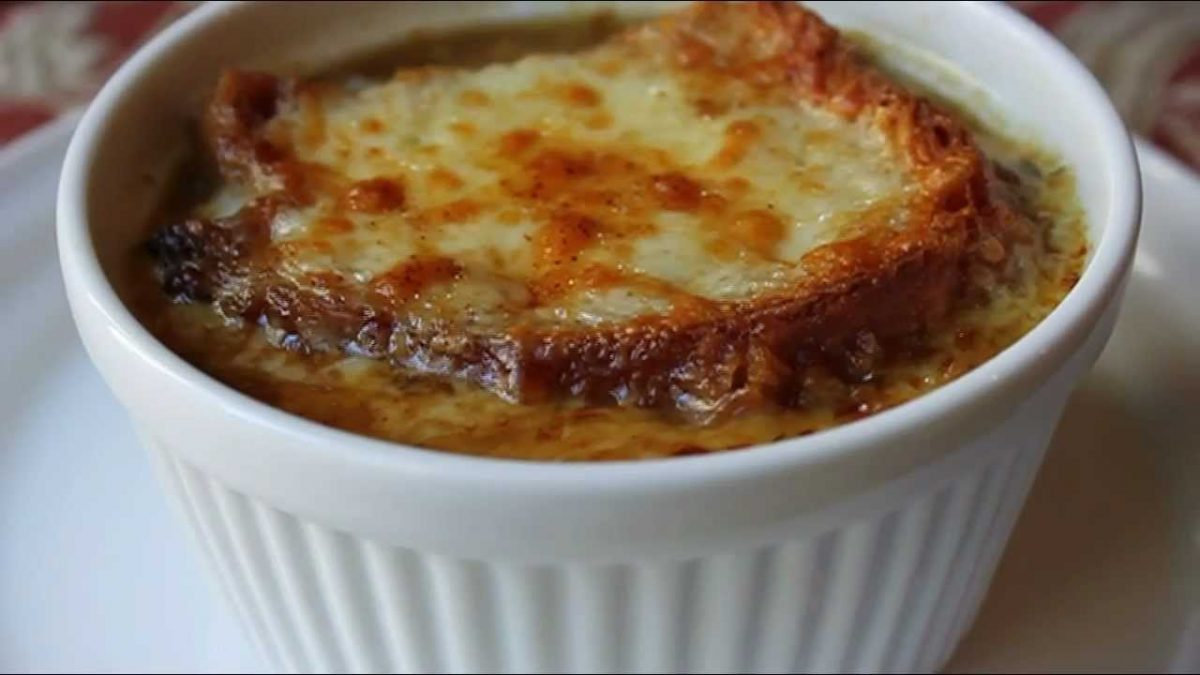 American French Onion Soup Recipe - How to Make Onion Soup - YouTube