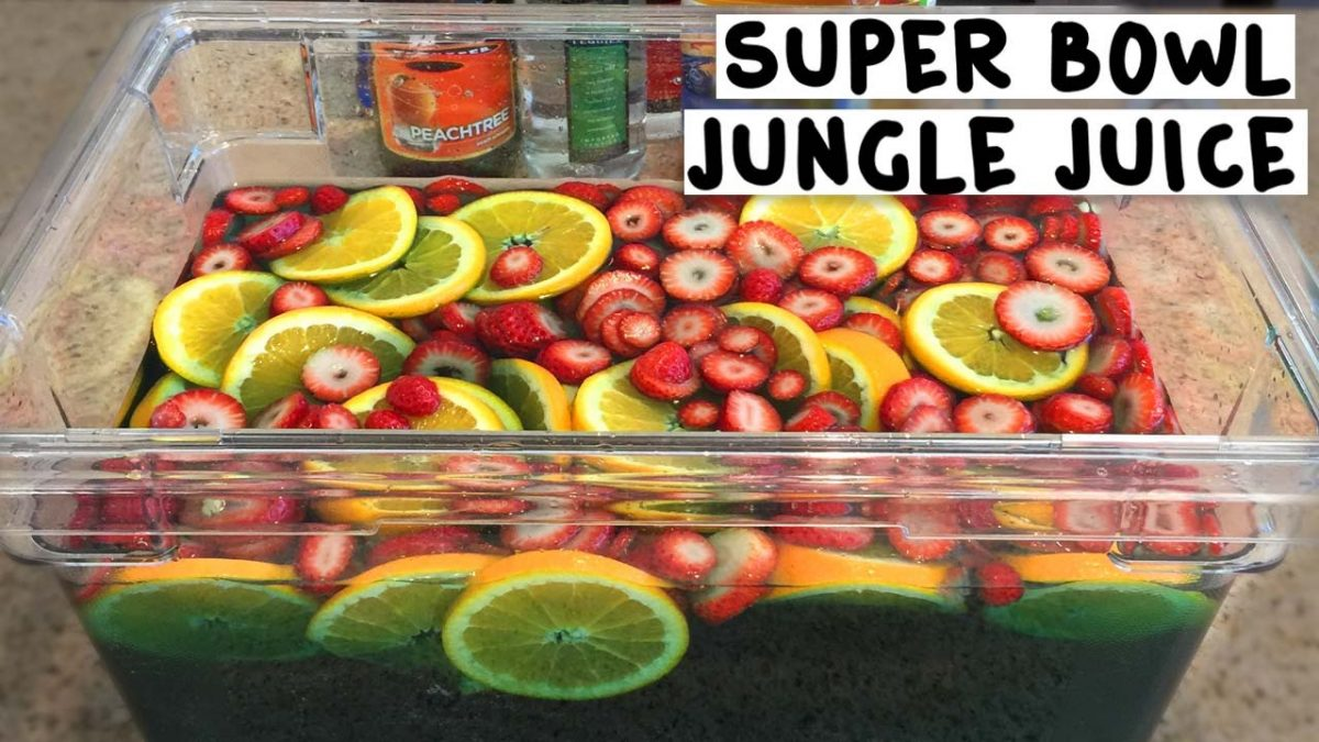 Super Bowl Jungle Juice - Tipsy Bartender - YouTube
