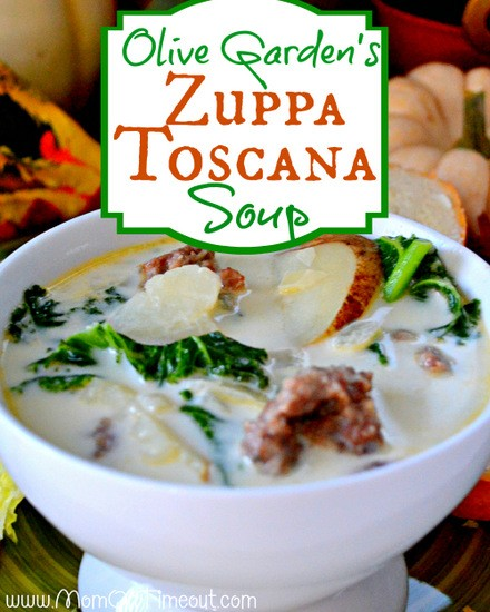 Olive Garden Zuppa Toscana Soup Recipe - Mom On Timeout