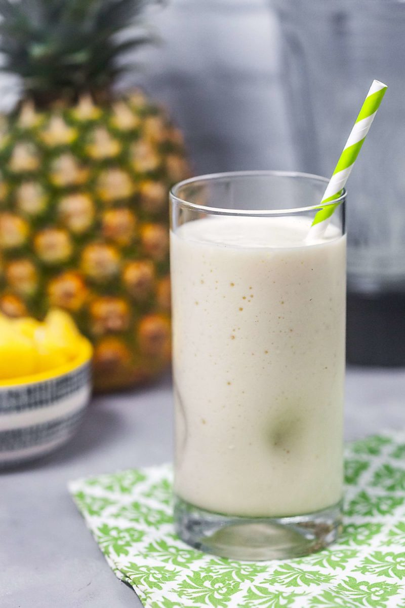 Piña Colada Protein Shake Recipe | Healthy Delicious