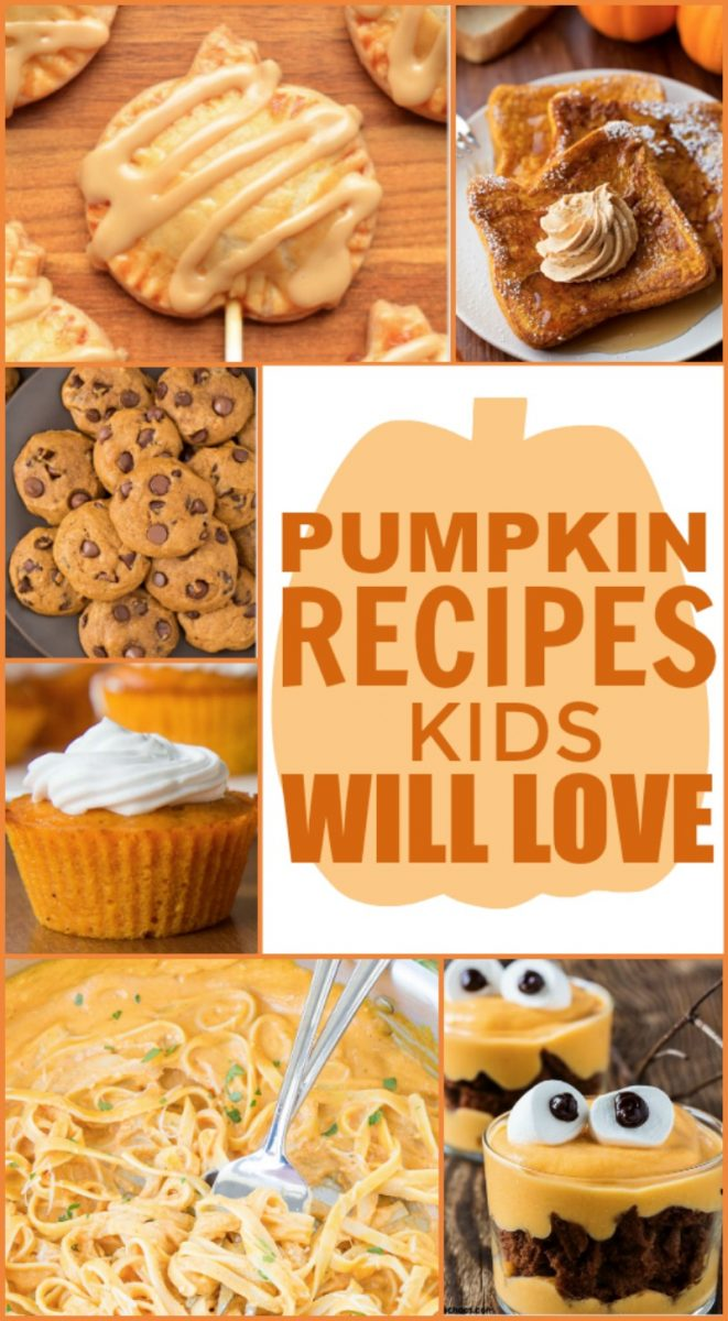 Pumpkin Recipes Kids Will Love - A Little Craft In Your Day