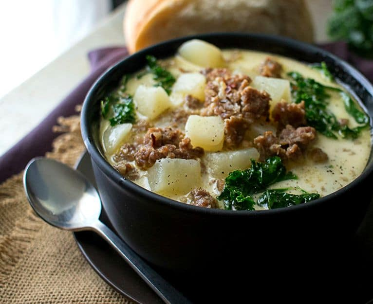 Slow Cooker Zuppa Toscana - The Chunky Chef