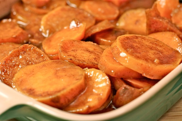 Southern Baked Candied Yams Recipe | Divas Can Cook
