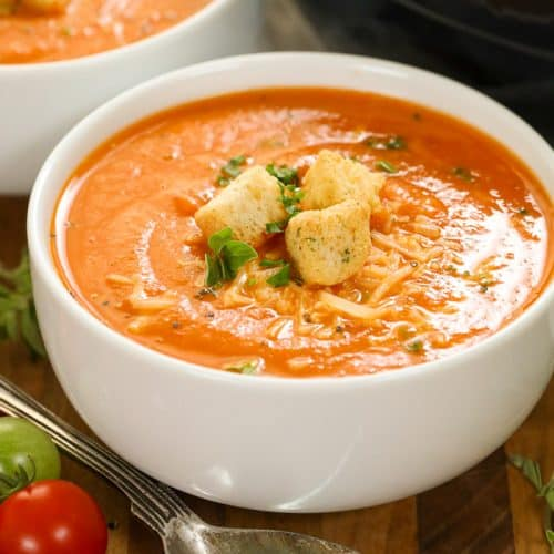Fresh Tomato Soup - Spend With Pennies