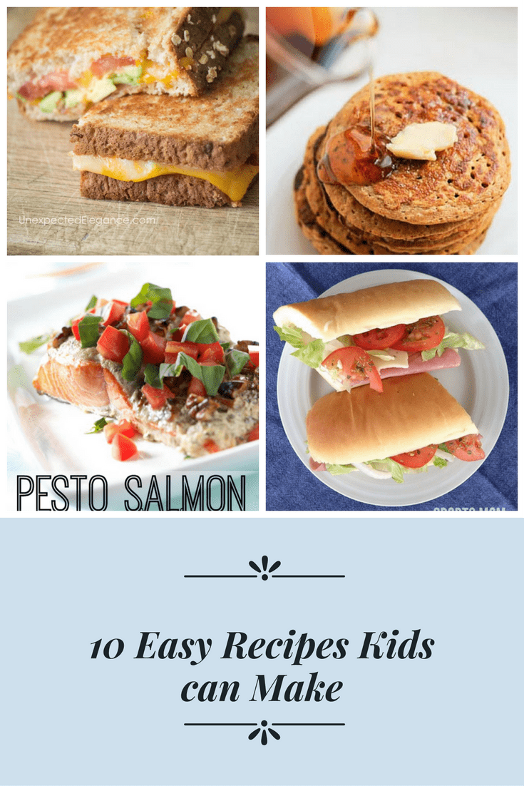 10 Easy Recipes a Kid Can Make