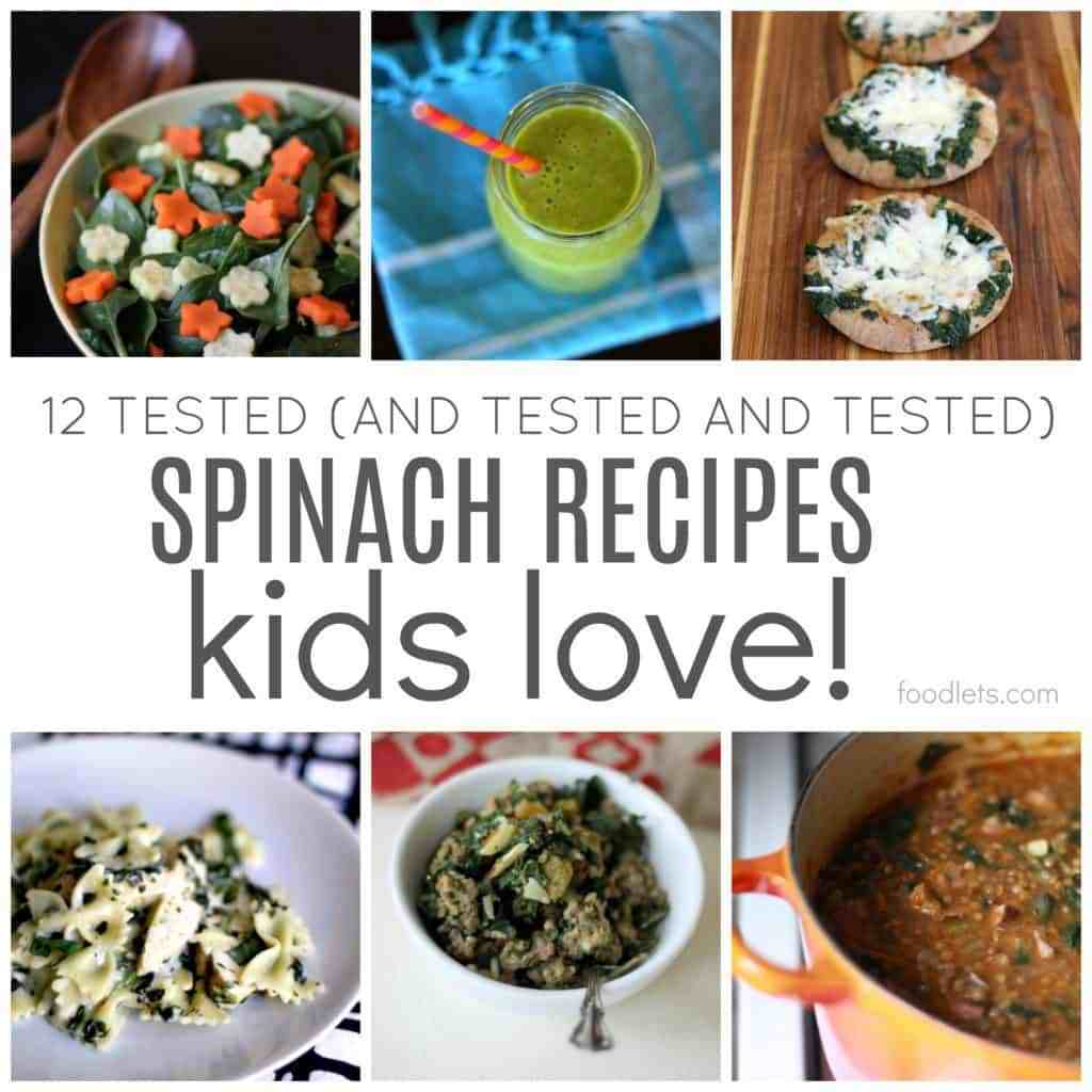 12 Tested Spinach Recipes Kids (and Adults) Love | Foodlets