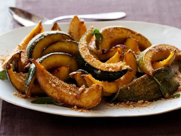 Roasted Acorn Squash Recipe | Tyler Florence | Food Network