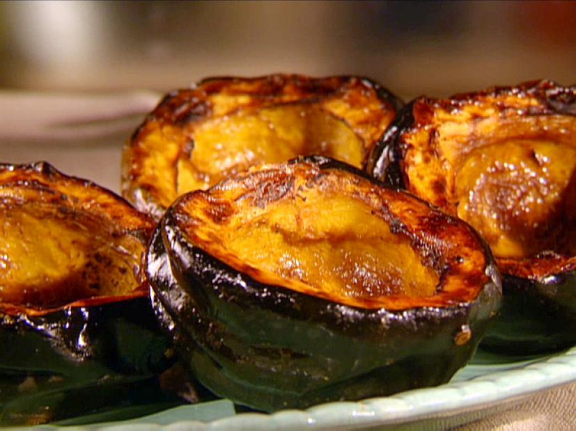 Sweet Roasted Acorn Squash Recipe | Sunny Anderson | Food Network
