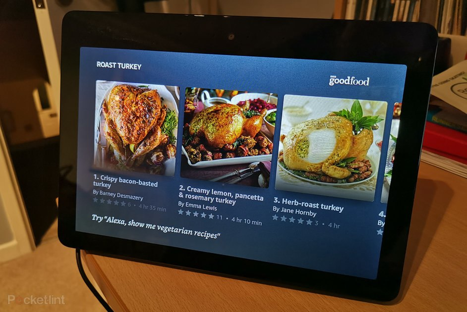 The Amazon Echo Show now gets you step-by-step recipes from BBC