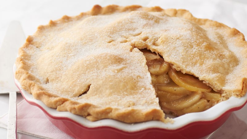 Scrumptious Apple Pie Recipe - BettyCrocker