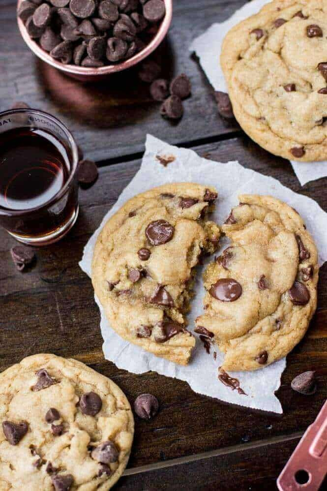 The WORST Chocolate Chip Cookies Ever... still warm from the oven ...