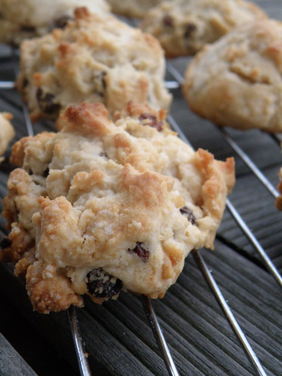 Rock Cakes (cookies) ~ a recipe from the World War II era, when ...