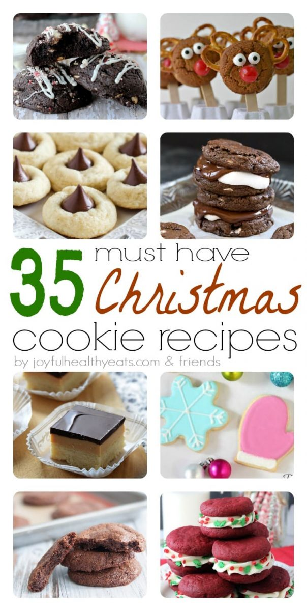 35 Must Have Christmas Cookies Recipes