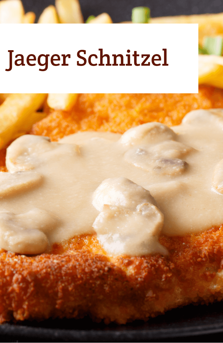 Jaeger Schnitzel in 2019 | Recipes | German pork recipe, Schnitzel ...