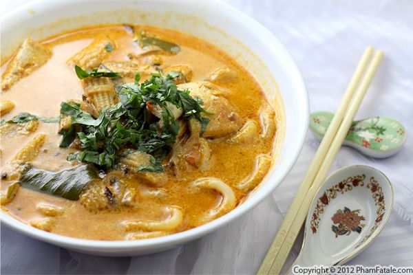 Spicy Udon Noodle Soup Recipe - Pham Fatale