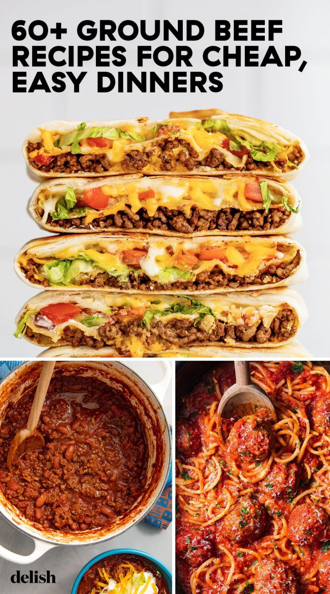 60+ Easy Ground Beef Recipes - What To Make With Ground Beef ...