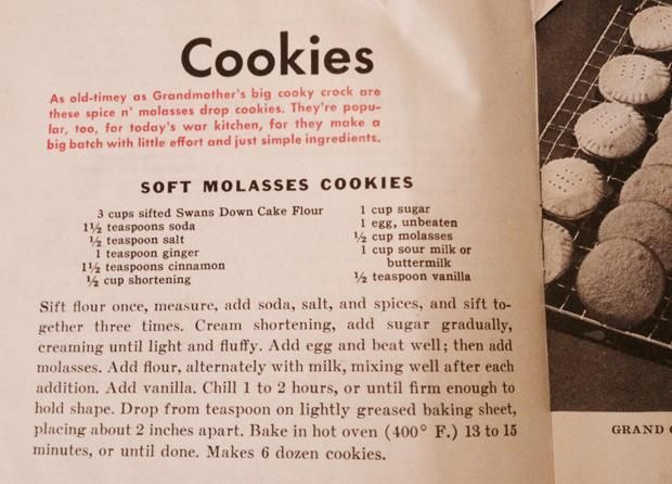11 Awesome Pages from World War II Ration Cookbooks | 1940s ...