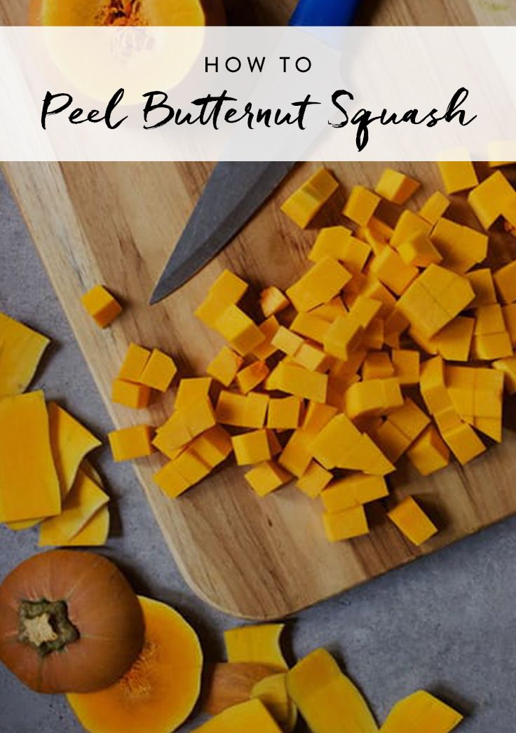 This Super-Simple Way to Peel Butternut Squash Is a Game Changer ...