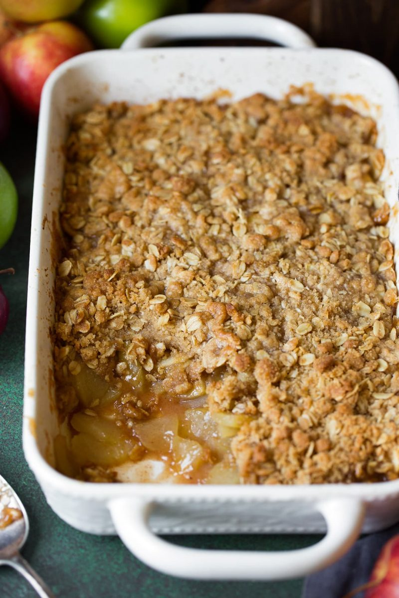 Easy Apple Crisp Recipe {VERY BEST! With Video} - Cooking Classy