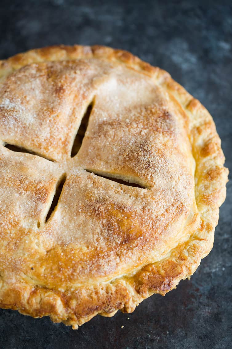 Easy Apple Pie Recipe | Brown Eyed Baker