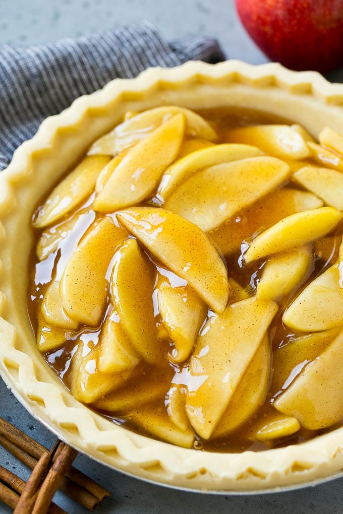 Apple Pie Filling - Dinner at the Zoo