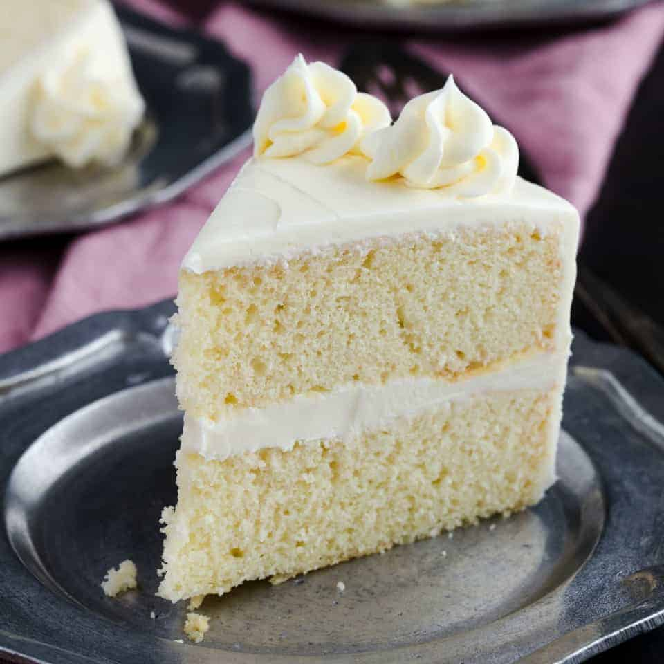 Basic Vanilla Cake Recipe   Baked by an Introvert