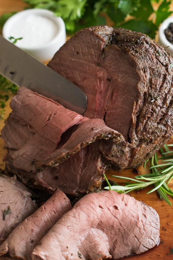 Top of the Round Roast - A Family Feast®