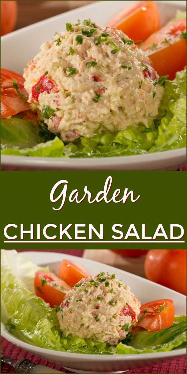 Garden Chicken Salad | Recipe | Healthy Salad Recipes | Salad ...