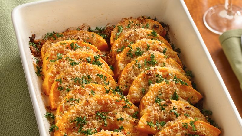 Parmesan-Butternut Squash Gratin Recipe - BettyCrocker