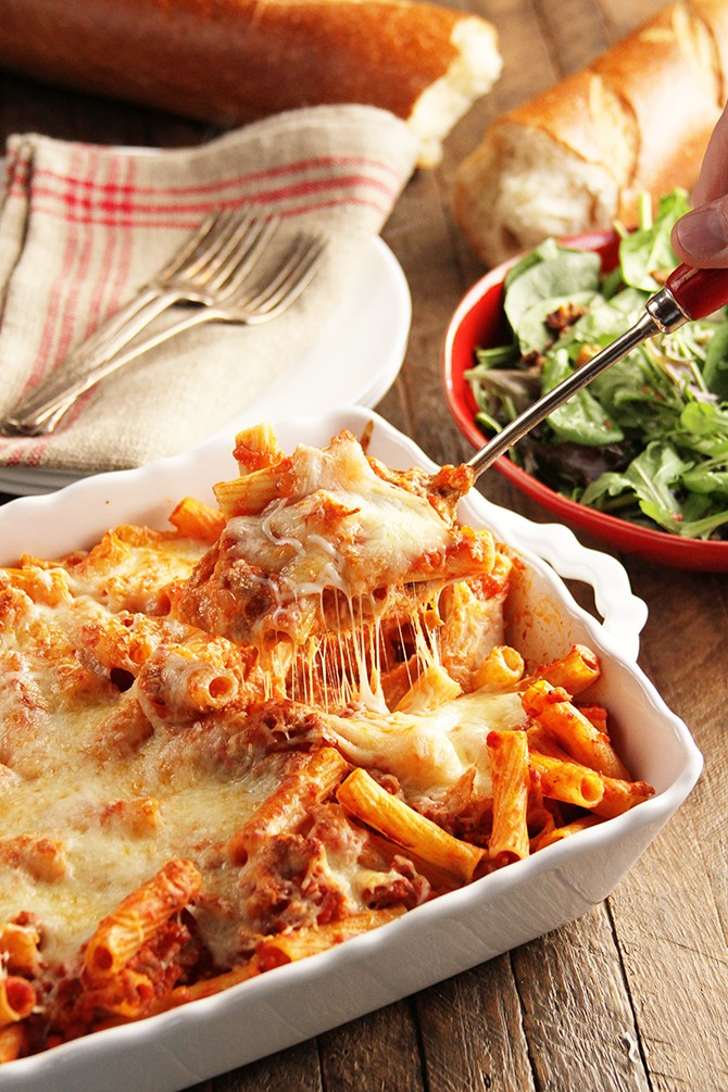 Cheesy Baked Ziti and the Convenience of Publix Delivery ...