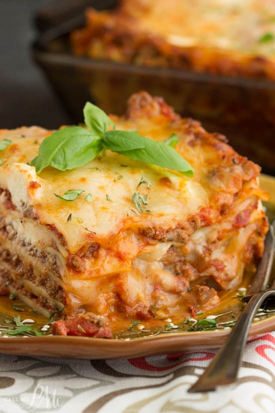 Classic Turkey Lasagna Recipe ><div class=