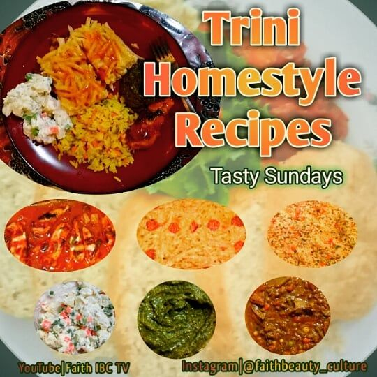 "Trini Homestyle Recipes starts 2019 with its ""Tasty Sundays ..."