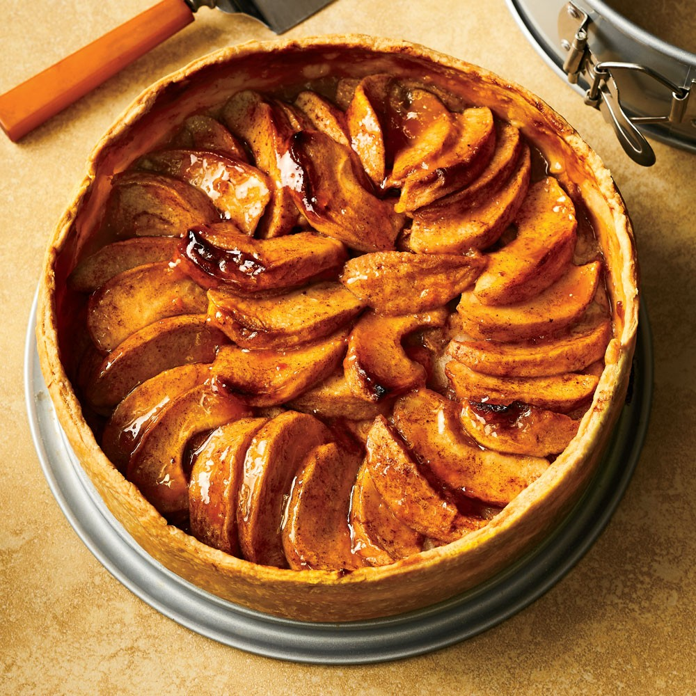 Deep-Dish All-American Cinnamon Apple Pie Recipe - Rose Levy ...