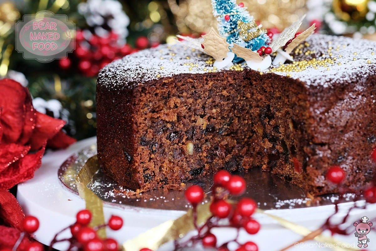 Quick and Easy Christmas Fruit Cake | Bear Naked Food