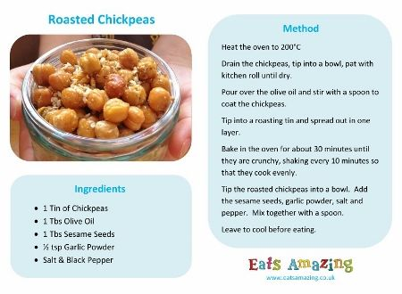 Roasted Chickpeas | Recipe | Cooking Recipes | Recipes, Easy meals ...