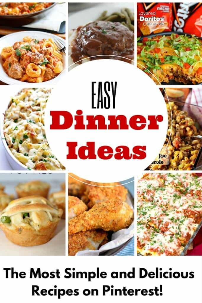 Dinner Ideas So Crazy Easy You Can Count On Them in a Pinch
