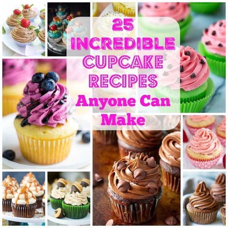 52 Best Cupcake Recipes Anyone Can Make | Cup cake | Pinterest ...